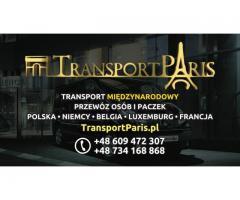 Przewóz osób i paczek POLSKA-NIEMCY-BELGIA-LUXEMBURG-FRANCJA