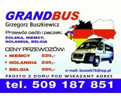 Bus Polska Niemcy Holandia Belgia