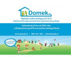 DOMEK.NL - Hipoteki i pełna obsługa od A do Z. Sprawdź nasze referencje!